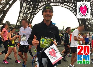 20km de Paris 2017 pour l'association Cassandra ACCL