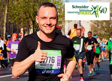 Marathon de Paris 2016 avec ERAWATI